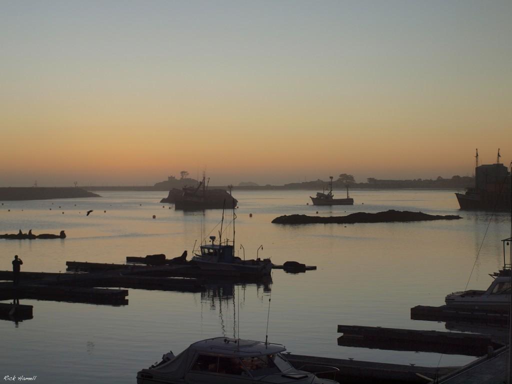Crescent City Bay Sunset