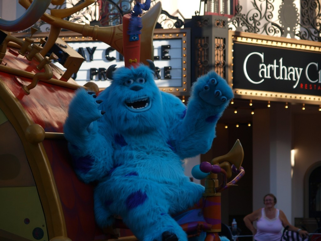 Sully at Hollywood Studios