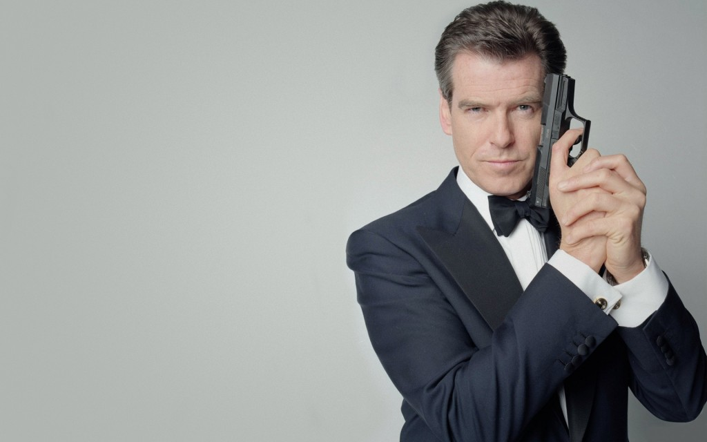 Pierce Bronson as James Bond
