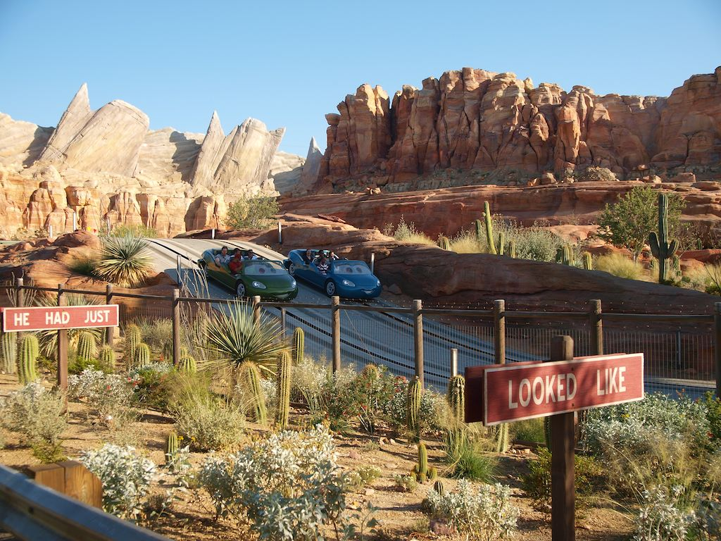 Radiator Springs Ride