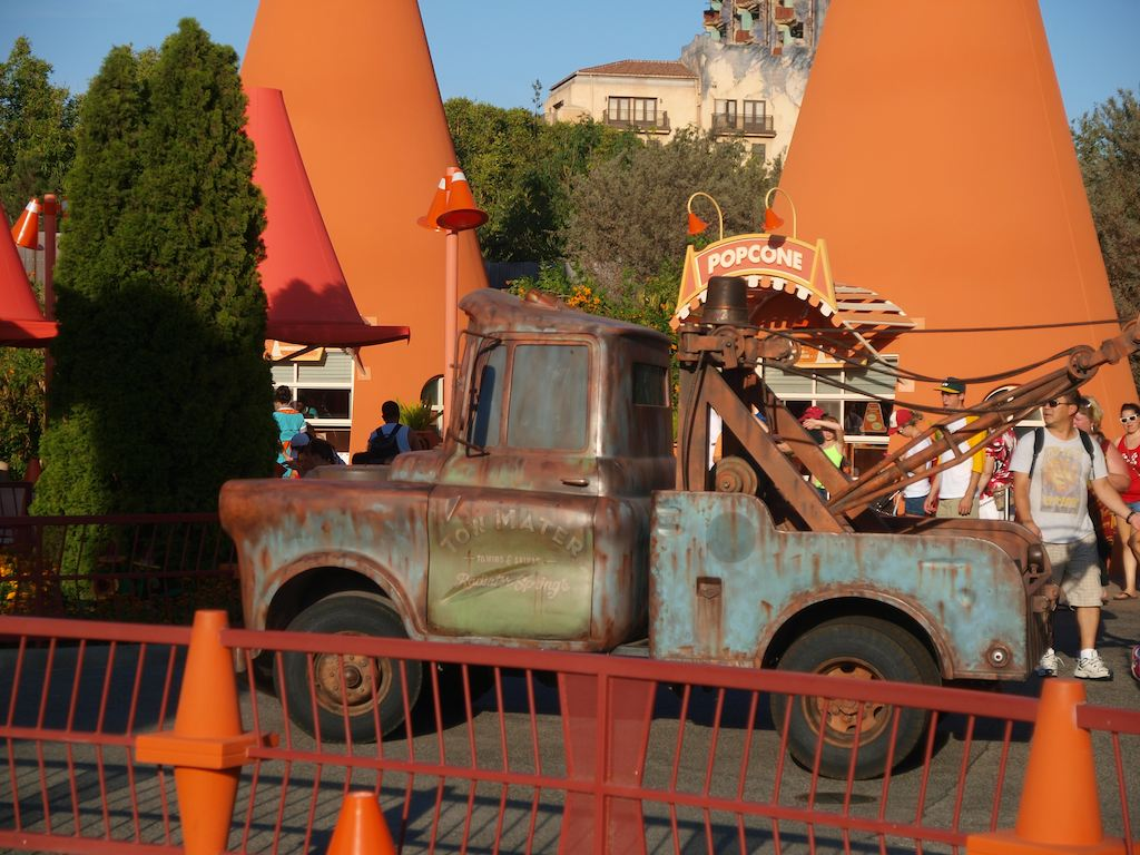 Mater, voiced by Larry the Cable Guy