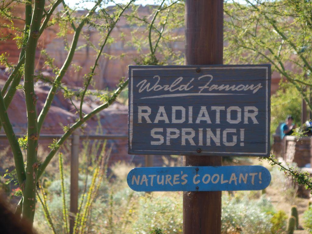 Radiator Springs!